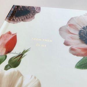 kate spade Office - Kate Spade Botanical Gift Logbook
